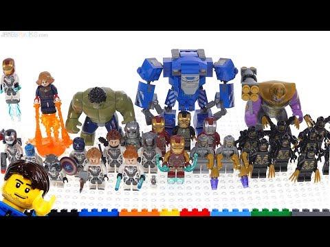 All LEGO Avengers Endgame Wave Figures Together!