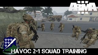 Gambar cover Havoc 2-1 Squad Training - ArmA 3 Co-op Gameplay