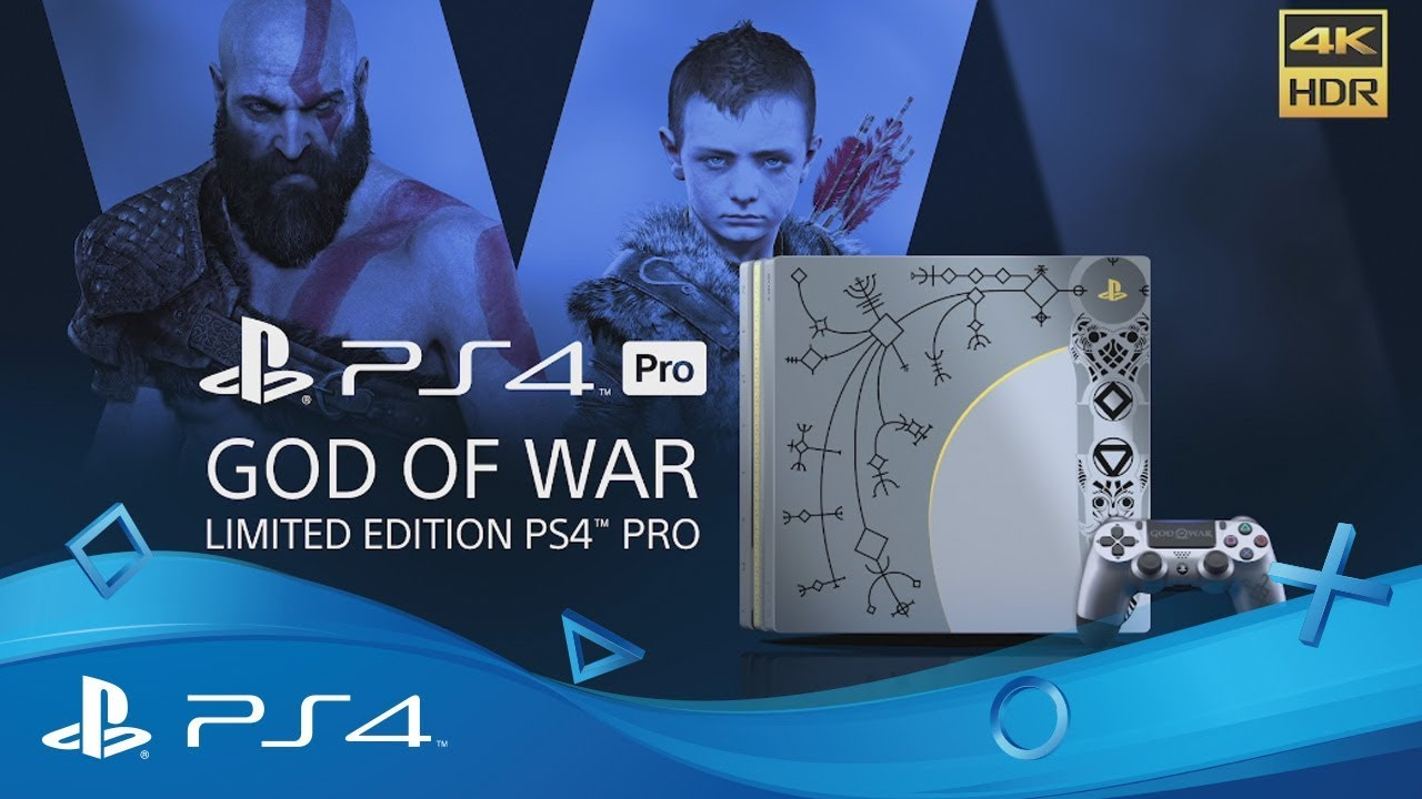 God of war limited edition ps pro bundle youtube