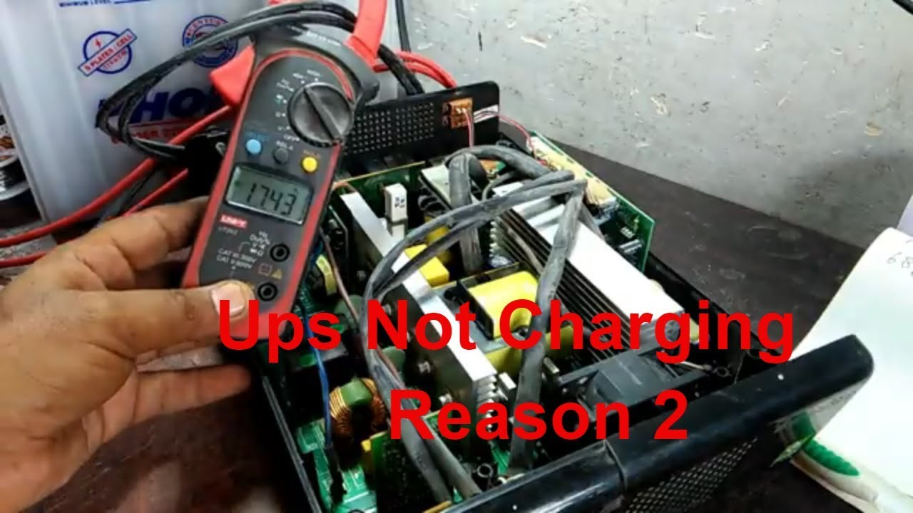 fix ups not charging battery (voltage feedback error) in urdu