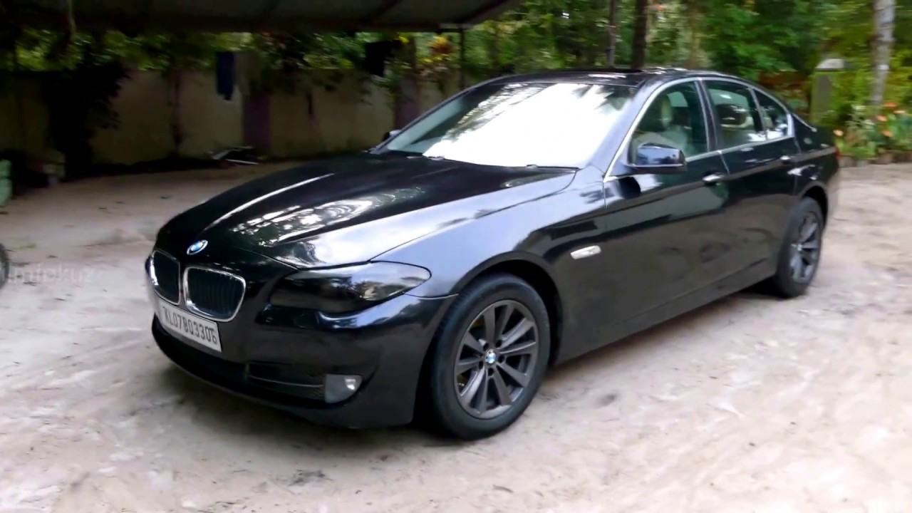 Superior BMW 520d Black Colour Changed To White Only With 21000 Rupees (325 US  Dollar)