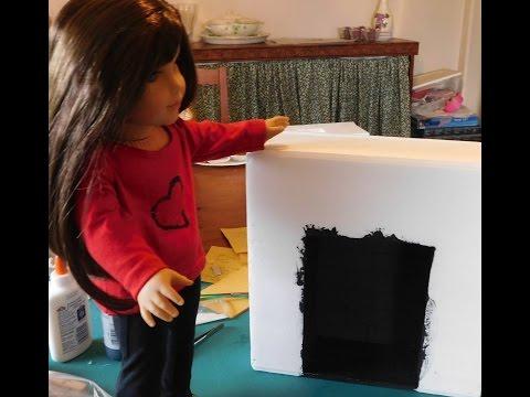 Doll Size Fireplace- Part 1
