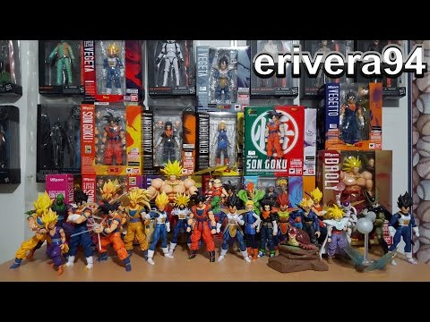 My S.H. Figuarts Dragon ball Z Full Collection Complete