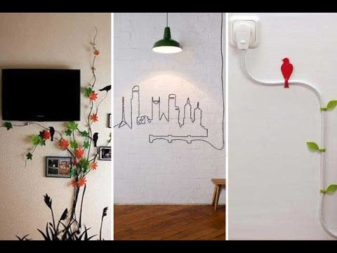 28 Stunning Diy Ideas To Hide Your Room S Cables Amp Wires
