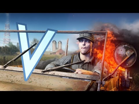 THE WORST DRIVERS IN BATTLEFIELD 5 (BFV WHEN NOOBS DRIVE) thumbnail