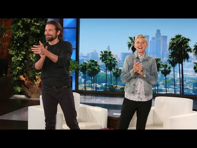 Bradley Cooper Talks 'A Star is Born' #1
