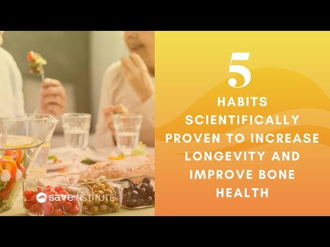 5 Habits Scientifically Proven To Increase Longevity And Improve Bone Health
