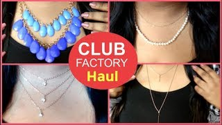 Club Factory Haul 2019 | Club Factory Haul India | Club factory affordable jewelry & accessory haul