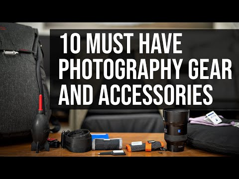 10 Must Have Photography Gear And Accessories For Beginner Photographers