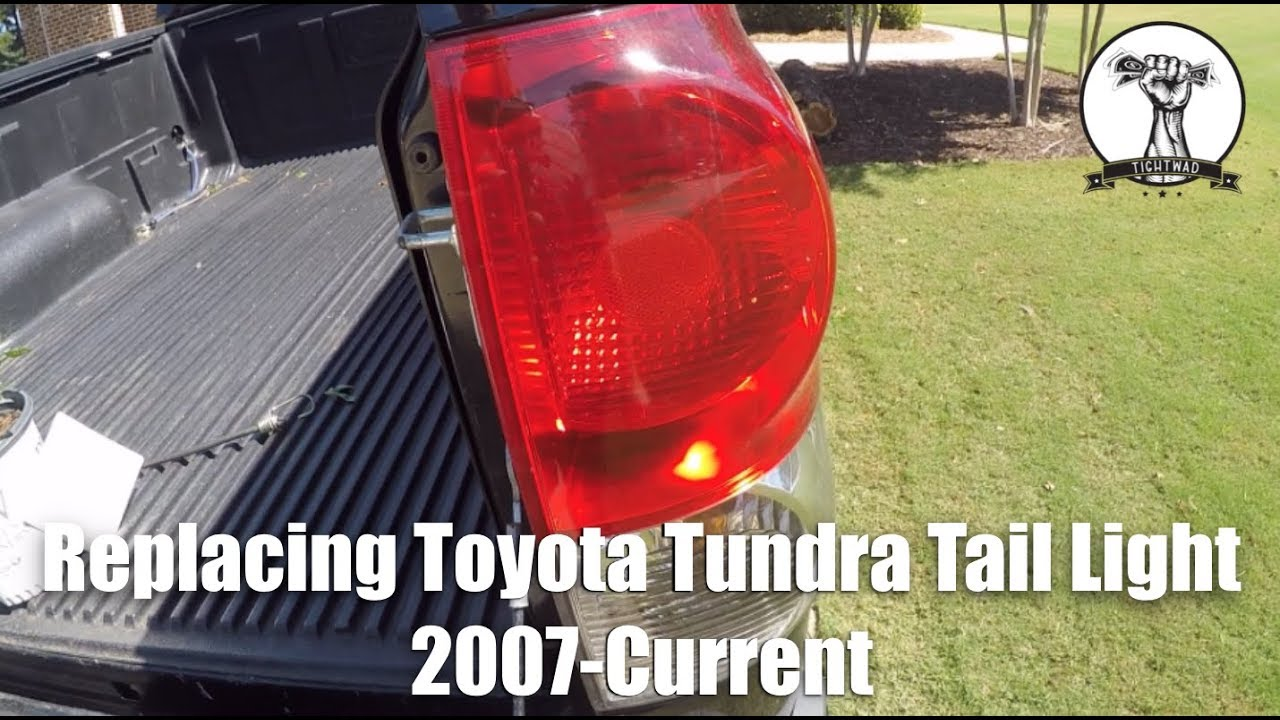 Toyota Tundra Tail Light Replacement 2007-Current - YouTube