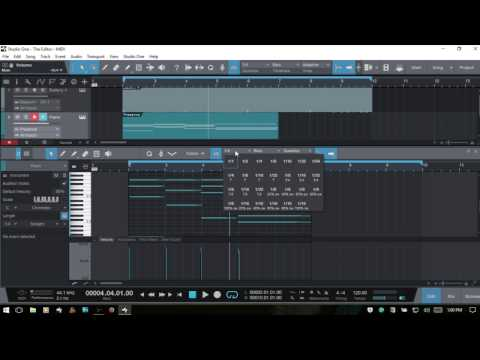Learn Studio One 3 | The Editor - Working with MIDI | Part I