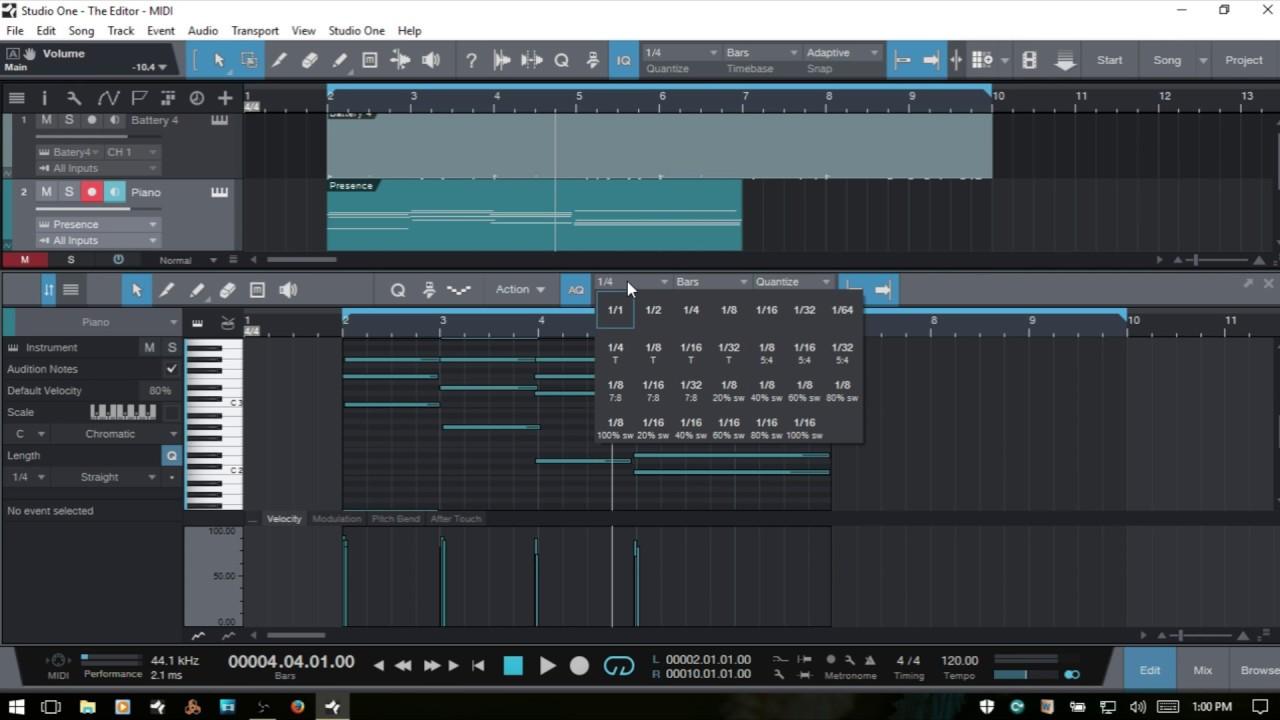 midi tracks - How do I .... ? - Ardour