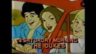 Die Herzöge Cartoon-Serie CBS Promo # 4 - 1983