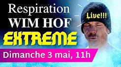 RESPIRATION WIM HOF LIVE - Mode EXTREME - 7 rounds, 45' de transe pure
