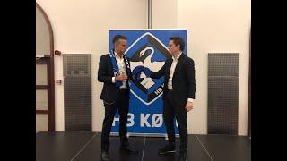 """TemaAften i HB Køge NETVÆRKET // Foredrag med """"Løven"""" Jacob Risgaard."""