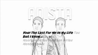 Adista Cukup Satu Cinta Lirik By Aritonang 88