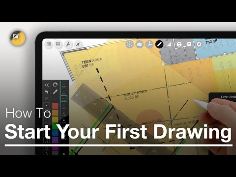 How to Start Your First Drawing - Morpholio Trace Pens & Layers Beginner Tutorial to Sketch & Draw
