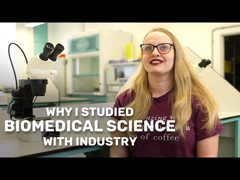 Biomedical Science with a Year in Industry - student stories