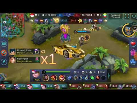 RRQ - Lemon and friends... Kontes arena INDONESIA VS MYANMAR 22/01/18