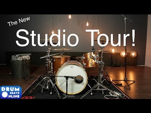The New Studio Tour | Drum Beats Online
