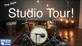 The New Studio Tour | Drum Beats Online