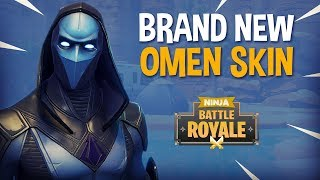 Brand New Omen Skin!! - Fortnite Battle Royale Gameplay - Ninja thumbnail