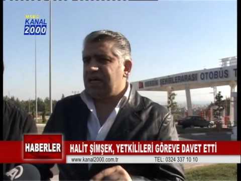 KANAL 2000 - HABERLER - HALİT ŞİMŞEK YETKİLİLERİ GÖREVE DAVET ETTİ