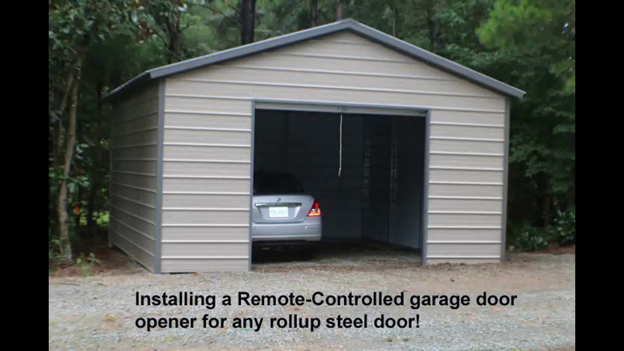 Garage Door Openers For Steel Roll Up Doors John Tyler
