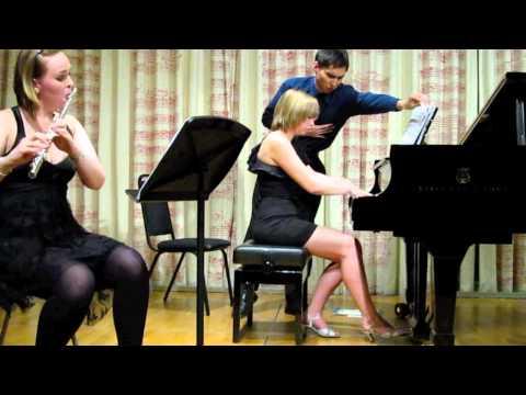 "Kapustin's ""Trio for Flute, Cello & Piano"" Helen Nicholas & Helena Gourd"