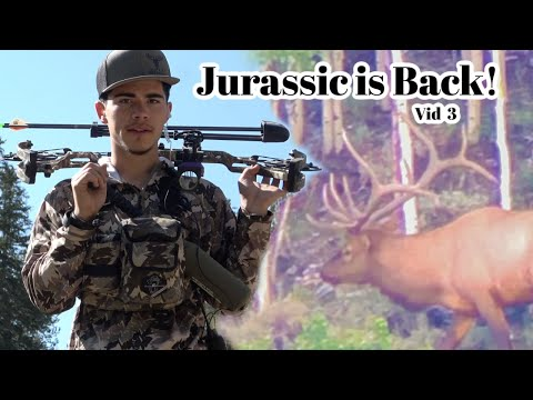 Face to Face with a MONSTER!!! Archery Bull Elk Hunting (Vid 3)