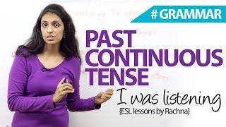 видео Past Continuous Tense (Прошедшее продолженное время)