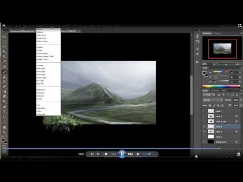 Photoshop Top Tip: Quickly Create Stunning Evnironments and Landscapes