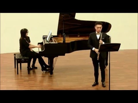 John Rutter - Suite Antique for flute and piano, III Aria (Jui-Ting Lin)