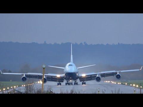 BA Landor 747 is saved! Final flight into Dunsfold. G-BNLY.  5 December 2020. #747 #qots #landor