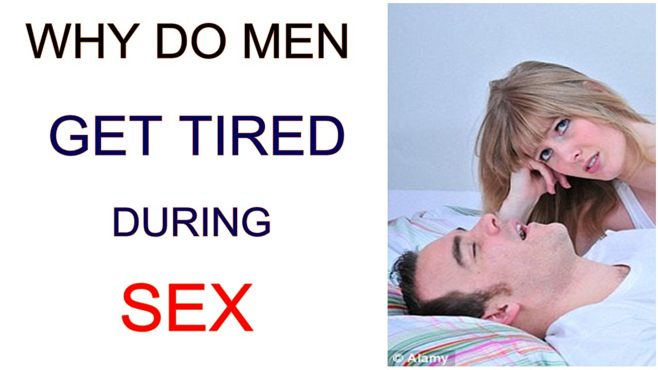 How to do sex without getting tired