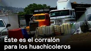 Huachicoleros en Puebla tienen corralón - Huachicoleros - En Punto con Denise Maerker thumbnail