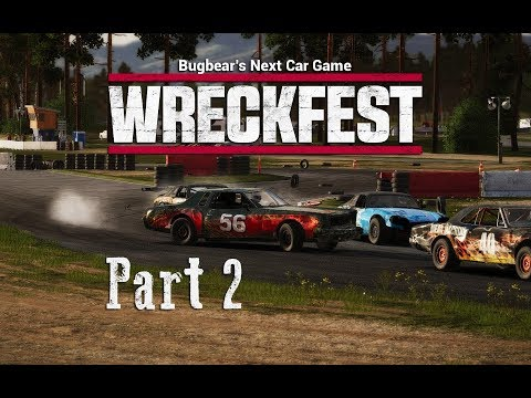 Wreckfest [Gameplay] #2 Rammer RS - Bloomfield Speedway - Dirt Oval HD