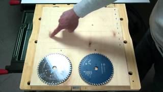 Тест пильных дисков 160-165 мм. Фанера 15 мм. Поперечный рез. Некоторые выводы.