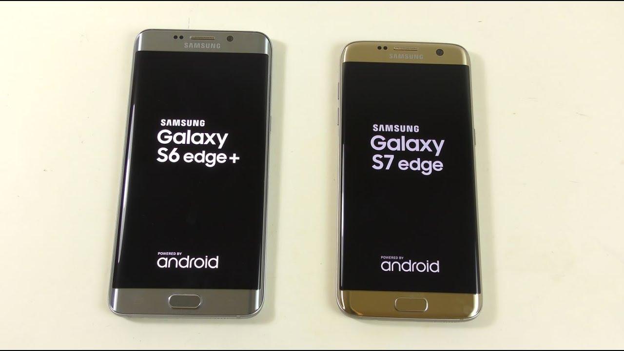 Samsung Galaxy S6 Edge+ Android 6.0.1 Vs Galaxy S7 Edge