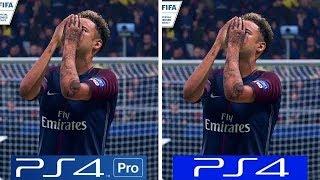 FIFA 19   PS4 Pro VS PS4   Graphics Comparison