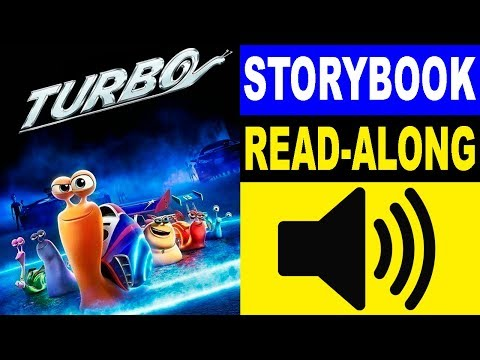 Turbo Read Along Story book | Turbo Storybook | Read Aloud Story Books for Kids