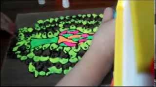 Витражные краски ! Павлин !(В этом видео я покажу как нарисовать павлина витражными красками!!Приятного просмотра!!, 2015-11-01T08:36:47.000Z)