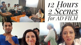 Shooting for an AD FILM Difference in TV AD Shoot An Actor 39 s Vlog