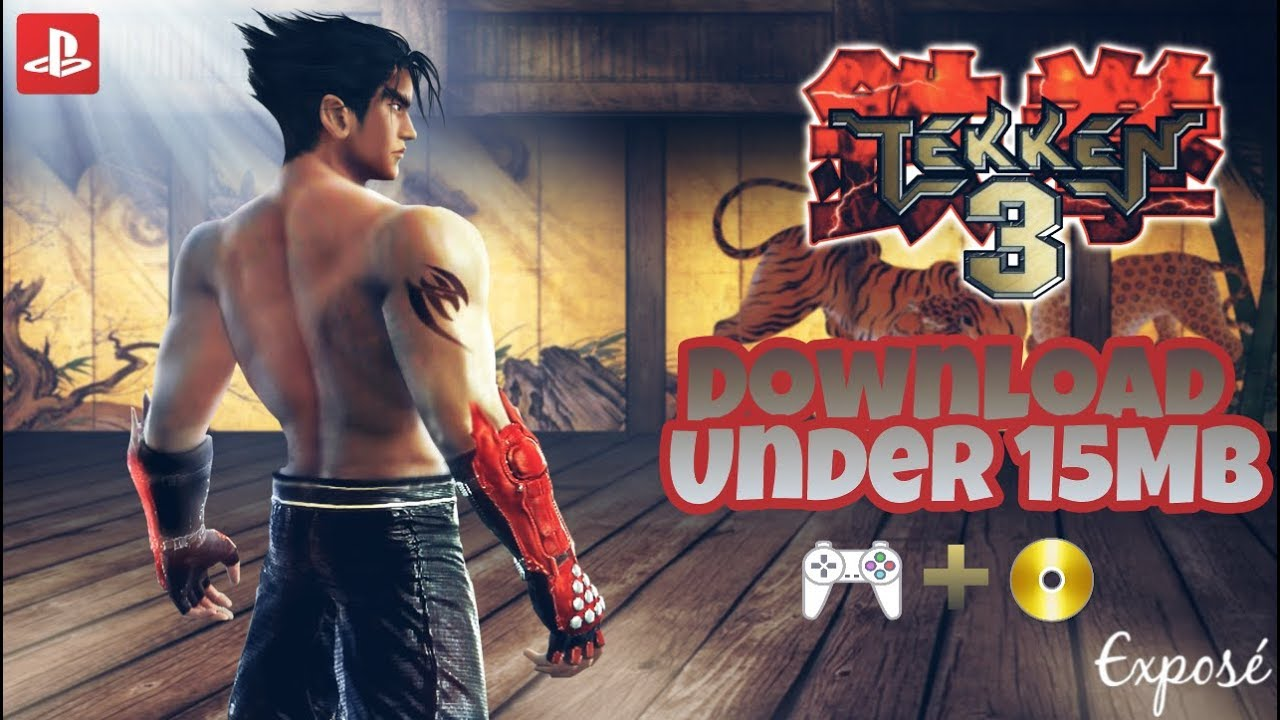 13 MB] Tekken 3 Highly Compressed Iso + ePSXe Settings for