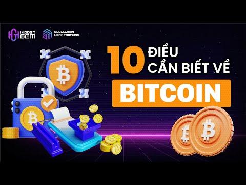 10 điều cần biết về BITCOIN - Blockchain Hack Coaching  | Hidden Gem Team