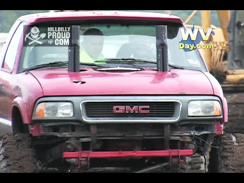 Kids Mud Bog Awesome Acres Carroll OH July 27 2014