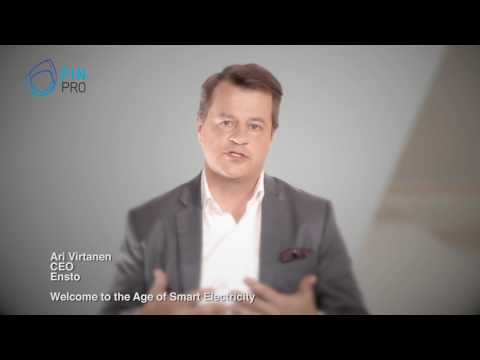 Welcome to the Age of Smart Electricity - Ensto CEO - Ari Virtanen