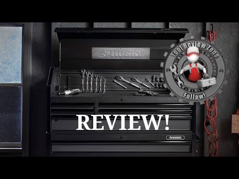Husky Industrial 52 In Tool Box Review H52ch6tr9hd Toolreviews Huskytools Toolstorage Youtube