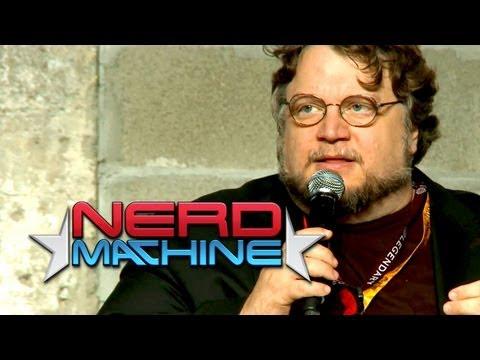 Conversation with Guillermo Del Toro - Nerd HQ (2012) HD - Zachary Levi