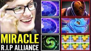 Nigma vs Alliance - MIRACLE 200 IQ Pick VOID Chrono Counter Blink & RO Counter Buyback Dota Pit 2020